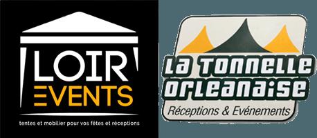 Logo Loir'events Tonelle